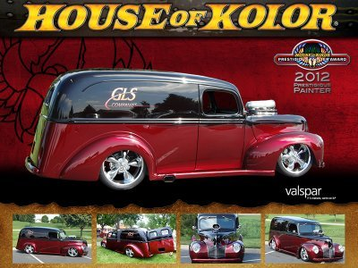 1940 Ford Panel Truck by Gary Garner winner of Prestigious Painter Award Feb 2012 for House for Kolor