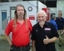 Oct 2011 custom painting training at Nashville Auto Diesel College with House of Kolor creator Jon Kosmoski and Colormatch tech guru Dale Foxx